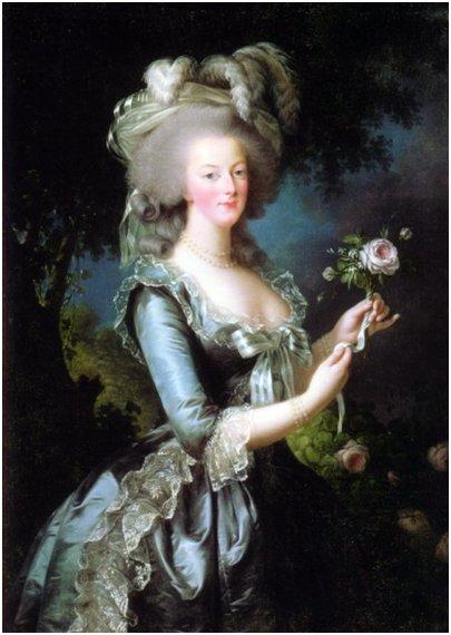 kuva Marie Antoinette oman aikansa muoti-ikoni
